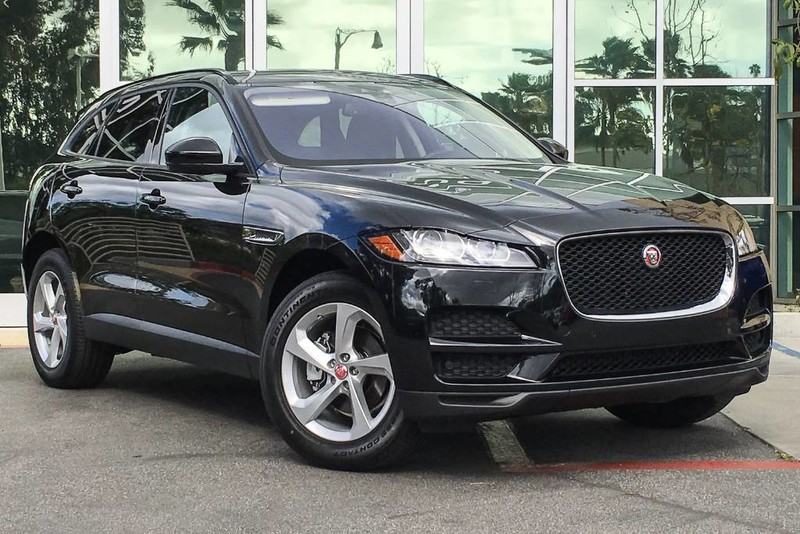 New Jaguar FPACE D Premium Sport Utility In Santa Monica - All wheel drive jaguar