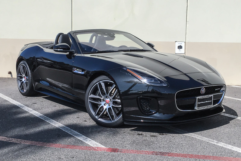 Hornburg Land Rover >> New 2019 Jaguar F-TYPE R-Dynamic Convertible in Santa ...